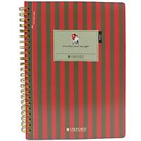 Sổ Lò Xo Oxford Design A5 80'S #1 Stripe (PP+AB+CB) - ASN40801