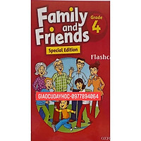 Flashcards  Family and Friends Special 4-bản tỉnh- Size A5- 2 mặt-ép Plastics