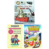 Bộ Sách Dành Cho Bé Trai Từ 6 -9 Tuổi: 50 Bài Học Thú Vị Về Phép Lịch Sự + Trận Quyết Đấu Ở Kỉ Jura + Những Con Tàu Tuyệt Vời (Bộ 3 Cuốn)