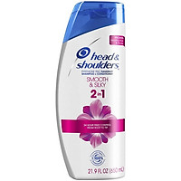 Dầu gội và xả Head & Shouders Smooth & Silky 2in1 650ml