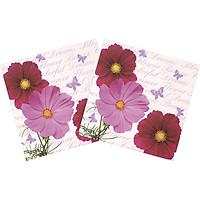 Combo 2 Xấp Khăn Giấy Ăn Trang Trí Bàn Tiệc Tissue Napkins Design Ti-Flair 340321 (33 x 33 cm) - 40 tờ