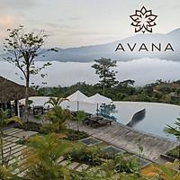 Gói 4N3Đ Avana Retreat Resort 5* Hòa Bình - 03 Bữa Sáng, 01 Bữa Tối, Ăn Nhẹ Buổi Chiều, Bể Bơi Nước Nóng, Không Gian Tuyệt Đẹp Giữa Núi Rừng Mai Châu