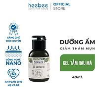 Gel tắm Rau Má Heebee Dưỡng Ẩm Mềm Mịn - Centella Shower Gel 40ml
