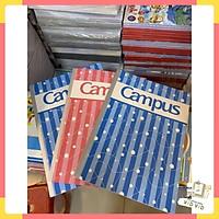 Tập campus khổ B5 4 ly ngang 200 trang (IB CHỌN MẪU)