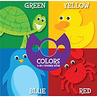 Four-In-One: Colors (4-In-1 Spinner Book)