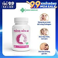 [COMBO 3 HỘP] Thực phẩm bảo vệ sức khỏe Trắng Bền AZ - Giảm nám, tàn nhang, giúp trắng da toàn thân, thành phần thảo dược tự nhiên ( Hộp 30 viên)