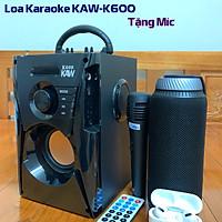 Loa karaoke di động công suất lớn Haoyes A1Z8, loa di động đa năng - Tặng kèm micro, điều khiển | Hàng Nhập khẩu