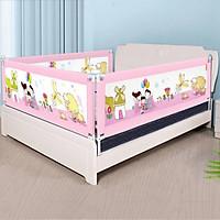Thanh chắn giường cho bé an toàn cao cấp trượt lên trượt xuống nút bấm hiện đại cao khoá an toàn 82 cm Aachmann giá bán 1 thanh
