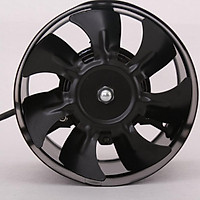 Metal Inline Duct Fan Booster Exhaust Blower Air Cooling Vent