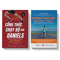 Sách Combo Cẩm Nang Chạy Bộ Để Khỏe Không Bao Giờ - Công Thức Chạy Bộ Của Daniels - Pandabooks