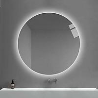 Gương Nhà Tắm, Gương Led Hậu - Đường Kính 40, 50, 60cm [Đủ Phụ Kiện]