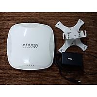 Bộ phát sóng wifi chuyên dụng Aruba AP-115 RW (Used) mới 99%- Hàng chính hãng - Phát wifi trên 2 băng tần là 2,4Ghz và 5Ghz - Sử dụng công nghệ MACSec để chống trộm wifi và chặn repeater