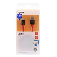 Dây Cáp Sạc USB Type-C Pisen Dài 1.5m Hỗ Trợ Sạc Nhanh 5A Quick Charge Chống Gãy- Hàng Chính Hãng