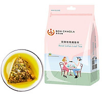 Gói trà hoa sen hoa hồng túi lọc giữ dáng - Trà của người Đài - loại trà giữ dáng (18 túi trà)
