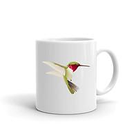 Cốc Sứ Cao Cấp In Hình Chú Chim Nhiều Màu Sắc - Mẫu003