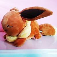 Gấu Bông Pokemon Eevee Nằm (40 Cm) Gb72 (Nâu Cam)