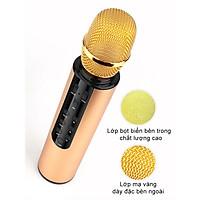 Micro Karaoke Bluetooth Micro không dây Kèm Loa Chất lượng cao cầm tay, Hát Trực Tiếp Không Cần Loa - Hàng Chính Hãng PKCB