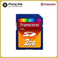 Thẻ nhớ máy ảnh SD 2GB Transcend , Chính hãng