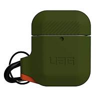 Bao case bảo vệ cho Airpods 1 / Airpods 2 UAG Silicone Olive Drab _ Hàng Chính Hãng