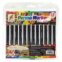 Bộ 12 Bút Lông Kim Perma Marker FT07