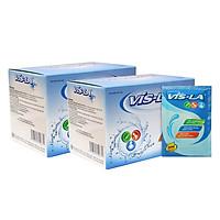 Combo 2 Hộp Thực Phẩm Chức Năng Bổ Sung Nước, Điện Giải, Vitamin Vis-La V007B (10 Gói / Hộp)