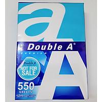 Giấy A4 Double A 80 Gsm ĐẶC BIỆT 550 tờ/ream