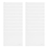 Xấp 24 Bìa Dây Kéo Nhỏ CFO CE-948 (23.4 x 18 cm) - Màu Ngẫu Nhiên