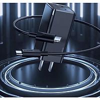 Bộ cốc sạc nhanh đa năng siêu nhỏ gọn Baseus GaN2 Mini Quick Charger C+C 45W (PD/QC3.0/ BPS/ SCP/ FCP/ AFC Multi Quick Charge Technology Support) - Hàng chính hãng
