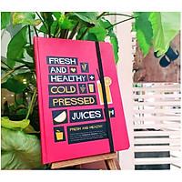 Sổ Tay Bullet Journal - Healthy Juice - 180 Trang (145x208mm)