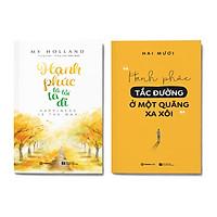 Combo 2 cuốn: Hạnh phúc là lối ta đi + Hạnh phúc tắc đường ở một quãng xa xôi