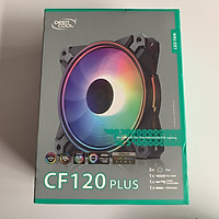 Quạt của vỏ máy vi tính Deepcool CF120 PLUS (3 FAN) - Hàng Chính Hãng