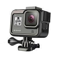 Khung Nhôm Vlog cho Gopro 8 Black - kèm vít vặn