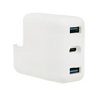 Bộ Chuyển Đổi Sạc Nhanh Di Động 2 USB 3.0+ Bộ Điều Hợp Loại C Cho Macbook