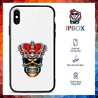 Ốp Cao Cấp 11 Pro Max In Hình Đầu Lâu IPBOX Cho Iphone 12/11/ProMax/Mini/6/6S/7/8/8P/7P/6P/6Sp/X