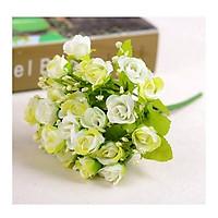 Nhánh hoa giả, hoa hồng baby nở