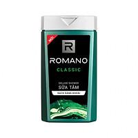 Sữa tắm cao cấp Romano Classic cổ điển lịch lãm phiên bản Deluxe sạch sáng khoái 180gr