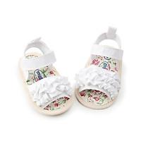 Dép bé gái tập đi xinh xắn, dép sandal cho bé gái sơ sinh đến 18 tháng tuổi kiểu dáng công chúa đáng yêu.