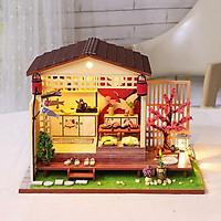 Mô hình nhà DIY Doll House Great House Nhật Bản Kèm Mica Chống bụi