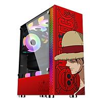 Case máy tính Desktop MIK DT03 RED LUFFY - Hàng Chính Hãng