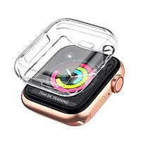 Bộ 02 Case Ốp Dẻo Silicon Dành Cho Apple Watch Series 4 / 5 Hàng Chính Hãng Helios