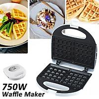 220V 750W Electric Waffle Maker Household Pancake Pan Breakfast Maker Stainless steel