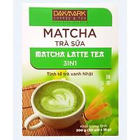 Trà Sữa Matcha DakMark _ Trà sữa trà xanh hòa tan thơm ngon tinh tế đảm bảo sức khỏe (20 Gói x 15g)