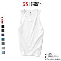 Áo Ba Lỗ Nam 5S (7 màu), Vải Cotton Mềm Mại, Dáng Thể Thao, Trẻ Trung, Năng Động, Thấm Hút Mồ Hôi, Co Giãn Cực Tốt