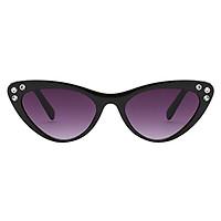 Retro Unisex Cat Eye Shape Women's Eyewear Anti-UV Sunglasses Purple