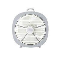 Quạt bàn mini có đèn USAMS US-ZB065 Desktop mini Lamp Fan - Hàng chính hãng
