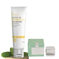 Kem mờ thâm mụn, sẹo, nám, vết thương, trắng mịn, ngừa tăng sắc tố Tặng  Kem Ngày Cool Cream Chống Nắng, Makeup Dr Lacir 5Gr