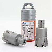 Mũi khoan từ hợp kim TCT Ø 38mm UNIFAST hợp kim siêu cứng sử dụng trên máy khoan từ