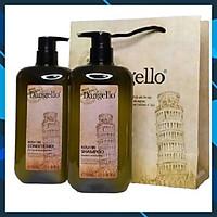 Cặp dầu gội xả Dangello Keratin shampoo & Conditioner siêu mượt tóc 500ml