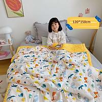 Chăn lông hạt siêu mềm cho bé hàng xuất cao cấp 120*150cm