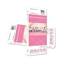 Bộ Bookmark in hình BTS cực dễ thương